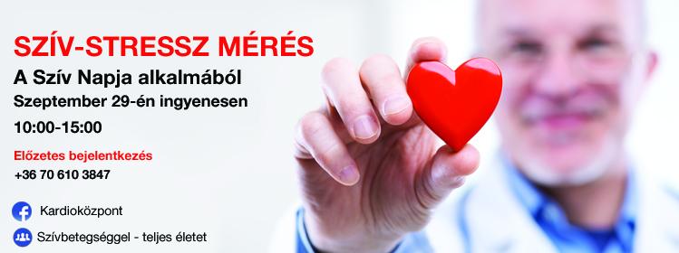 Szív-stressz mérés
