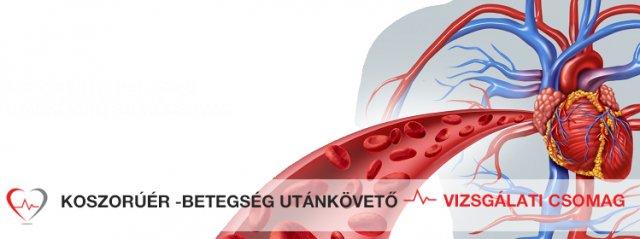 Koszorúér - betegség utánkövető vizsgálati csomag